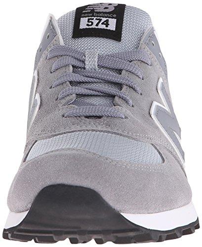 New Balance Herren 574 Laufschuhe Silber (Steel 071Steel 071)