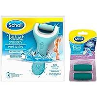 Scholl Velvet Smooth Pedi Wet & Dry elektrischer Hornhautentferner + Refill preisvergleich bei billige-tabletten.eu