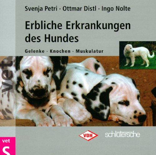 Erbliche Erkrankungen des Hundes, 1 CD-ROM Gelenke, Knochen, Muskulatur. Für Windows 95/98/ME/2000/NT 4.0. In Zus.arb. m. d. Verband f. d. Deutsche Hundwesen e.V.