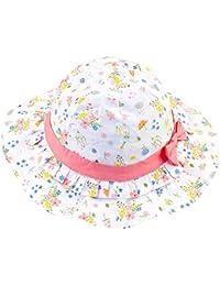 cf11f34bee2e Ruhi Chapeau de Soleil Bébé Enfant Plage Anti-UV Solaire Casquette en Coton  pour Activité