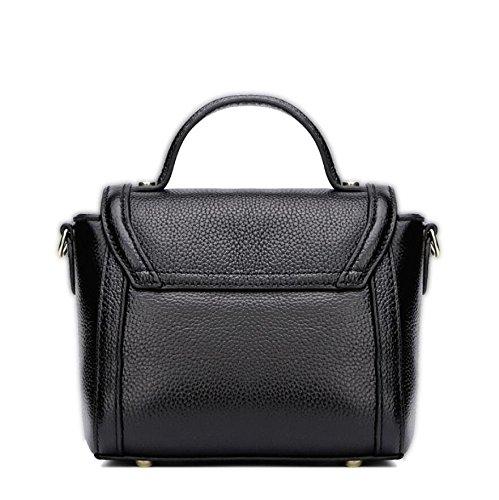 Z&N Europa und die Vereinigten Staaten Mode Leder Handtaschen Handtaschen Umhängetaschen Umschläge Kartentaschen Geldbörsen passend für alle Anlässe Freizeit Unterhaltung black