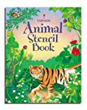 Animal Stencil Book (Stencil Books)