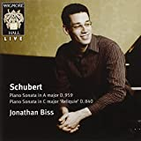 SCHUBERT - Jonathan Biss - Live at Wigmore Hall