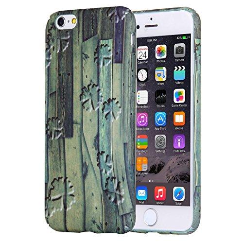 YAN Für iPhone 6 / 6s Retro Style Pattern PC Schutzhülle ( SKU : IP6G1040D ) IP6G1040C