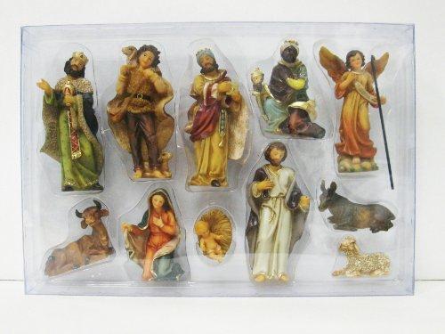 Unbekannt Krippefiguren 11-teilig H.:bis 10cm in Plastikbox (0940720)
