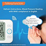 Healthsense BP200 Heart Mate Deluxe Fully Automatic Digital Talking Blood Pressure Monitor (White/Blue)