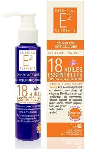 E2 Complexe Articulaire naturel aux 18 huiles essentielles - Calme rapidement les douleurs musculaires et articulaires EFFICACITÉ PROUVÉE