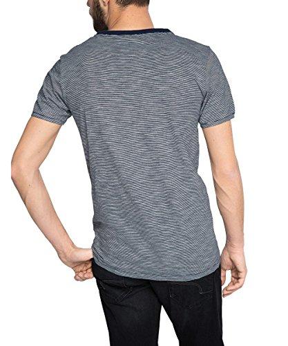 ESPRIT Herren T-Shirt Blau (DARK BLUE 405)