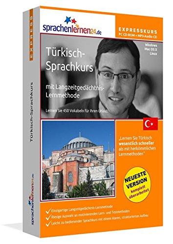 Preisvergleich Produktbild Sprachenlernen24.de Türkisch-Express-Sprachkurs PC CD-ROM für Windows/Linux/Mac OS X + MP3-Audio-CD: Werden Sie in wenigen Tagen fit für Ihre Reise in die Türkei