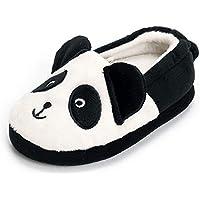 Matt Keely MK Toddler Boys Girls Cute Cartoon Slippers Winter Warm Plush Home Shoes