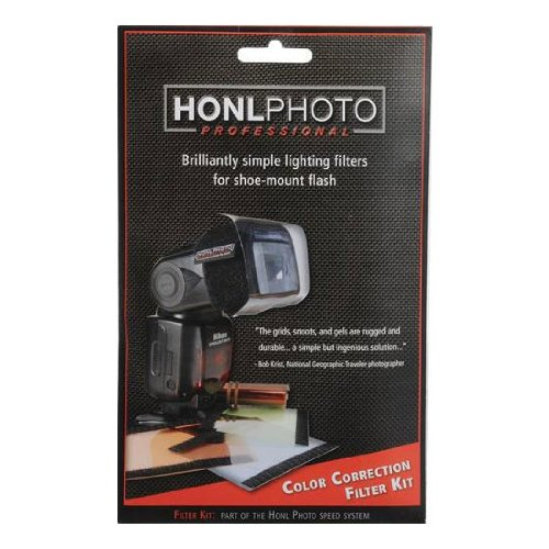 Honl Photo Color Correction Filter Kit Speed Snoot