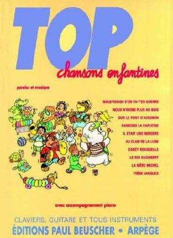 Partition : Top chansons enfantines
