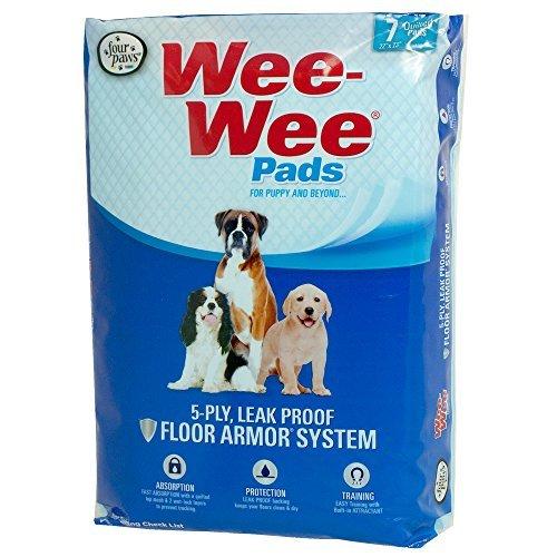Artikelbild: Interpet 316000 Four Paws - Wee Wee-Hygieneunterlagen, 7er pack
