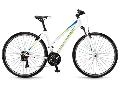 Winora Mountain Bikes Senegal Damen 28'' 21-G TY300 18 White/Cyan/Lime 51
