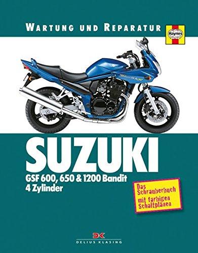 Preisvergleich Produktbild Suzuki GSF 600, 650 & 1200 Bandit - 4 Zylinder