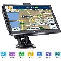 GPS Navigatore Satellitare Auto 7 Pollici Touch Screen, Avviso Traffico Vocale, Limite di Velocit Promemoria Sistema di con Aggiornamenti Gratuiti a vita Della Europa Mappa