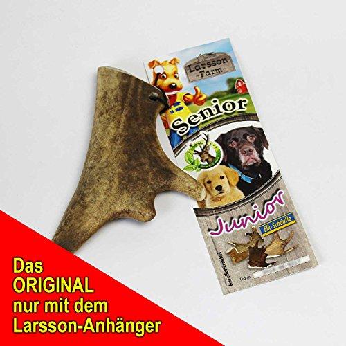 Larsson Geweih Hunde Kau-Snack – ELK-Schäufle I - 2