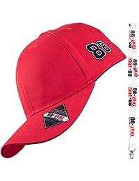 88-FLEX Baseball Cap - Herren Damen - Fitted Size Kappen - Baumwolle - verschiedene Farben