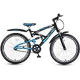 Hero RX1 24T Single Speed Mountain Bike (Black/Blue)