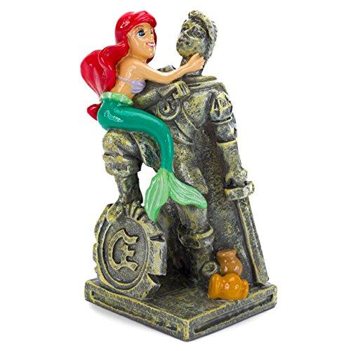 Penn-Plax die kleine Meerjungfrau Ariel & Eric Statue Aquarium Ornament (Meerjungfrau-dekor Kleine Die)
