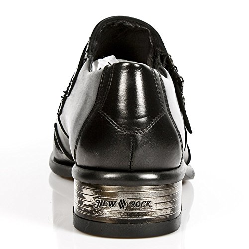 New Rock M 2358 S1, Chaussures de ville homme Noir (Nomada Negro/Itali Negro/Cuerol)