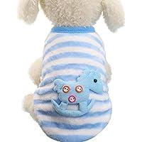 9dff86b807 Fossrn Ropa Perro Pequeño Yorkshire Invierno Mascotas Chihuahua Animal de  Dibujos Animados Abrigos Suéter Camisa para