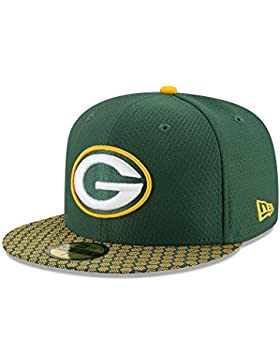 New Era Herren Caps / Fitted Cap NFL On Field Green Bay Packers 59Fifty