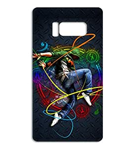 Happoz dancing boy colour art Samsung Galaxy S8 Plus accessories Mobile Phone Back Panel Printed Fancy Pouches Accessories Z381