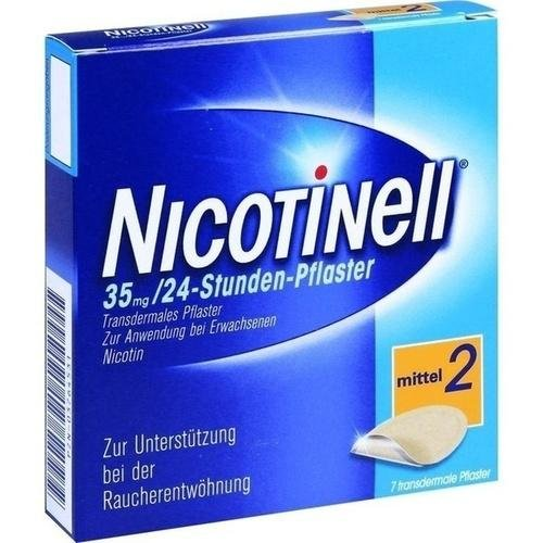 Nicotinell 35 mg 24 Stunden Pflaster, 7 St.