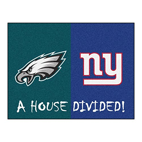 fanmats-10306-nfl-34-pollici-x45-in-philadelphia-eagles-ny-giants-house-divided-rugs-34-in-x45-in