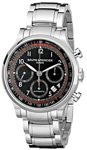baume-et-mercier-capeland-moa10062-gents-steel-bracelet-automatic-date-watch