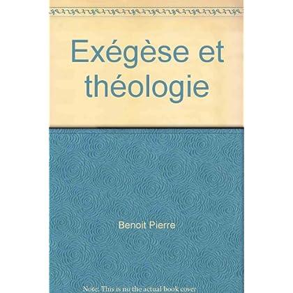 Exégèse et théologie tome 2
