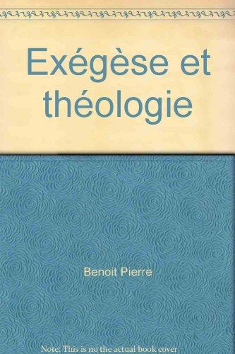 Exégèse et théologie tome 2 par André Lebois