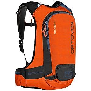 Ortovox Herren Free Rider 16 Rucksack, Crazy Orange, 56 x 32 x 11 cm, 16 Liter