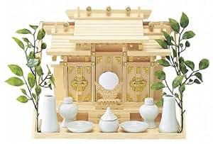 japanische home schrein kamidana wand aufh ngen typ shinden set aus hinoki japan import. Black Bedroom Furniture Sets. Home Design Ideas