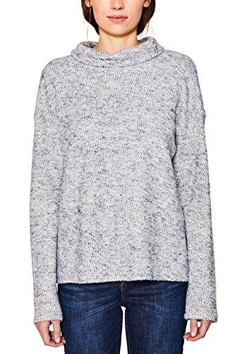 ESPRIT Damen Sweatshirt 107EE1J001 Grau (Light Grey 5 044) Small