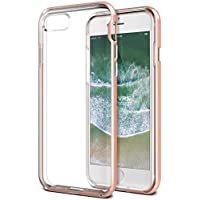 iPhone 8 Case / iPhone 7 Case VRS Design® Dual Layer Clear Case [Rose Gold] Shockproof Protective Cover Heavy Duty Bumper Case [New Crystal Bumper] for Apple iPhone 8 / Apple iPhone 7