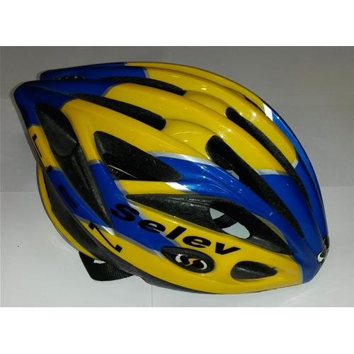 CASCO SELEV ALIEN BLUE-YELLOW TG. M