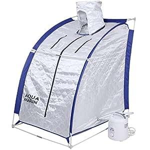 Jago - Sauna Vapeur Portable Bain de Vapeur Mobile Pliable 850 W env. 50°C