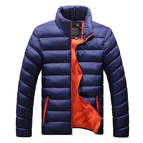 qkl Herren Wintermantel Student Baumwollmantel Neue Dicke warme Kapuze Plus Größe Baumwolle Kleidung kaltes Brot