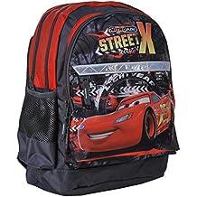 2cc95b17711 Ragusa-Trade Disney Cars Lightning McQueen Rucksack Kinderrucksack mit  Hauptfach und Nebenfach Getränkenetz (1