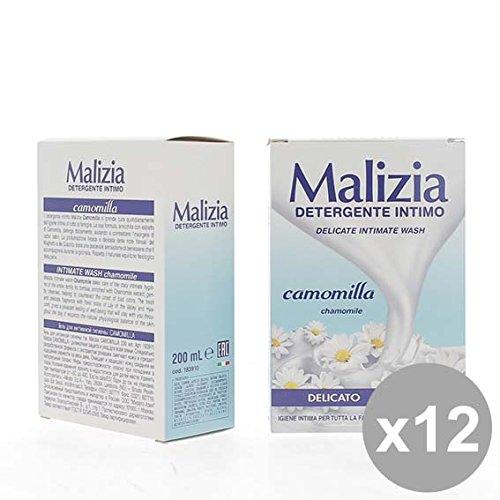 Set 12 MALIZIA Intimo 200 Camomilla Bagnoschiuma e saponi per il corpo