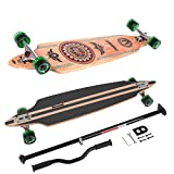 MARONAD Longboard Drop Through Race Cruiser ABEC-11 INDIAN und der MARONAD STICK