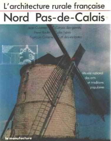 L'architecture rurale française : Nord-Pas-de-Calais par Jean Cuisenier