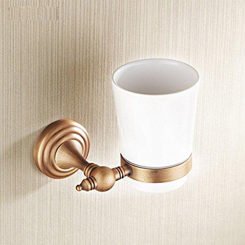 Brosse à dents porte-gobelet Xzi Cuivre Double tasse à café A+