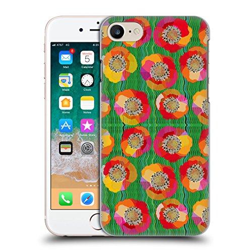 Ufficiale Turnowsky Margherita Delicata Nebbia Cover Retro Rigida per Apple iPhone 6 Plus / 6s Plus Campo Di Papaveri
