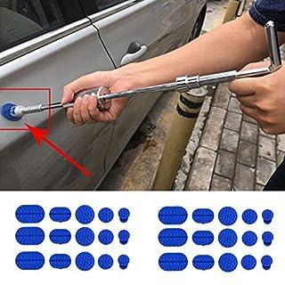 Gaddrt Autoreparatur 30 stücke Karosserie Dent Removal Ziehen Tabs Paintless Reparatur Werkzeuge Kleber Puller Tabs