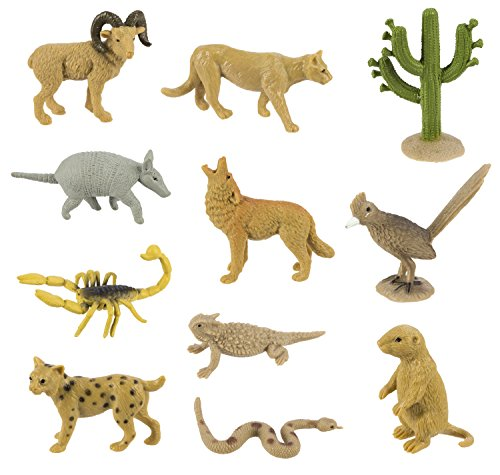 safari-ltd-desert-bulk-bag-48-realistic-hand-painted-figurines-includes-horned-lizard-road-runner-sc