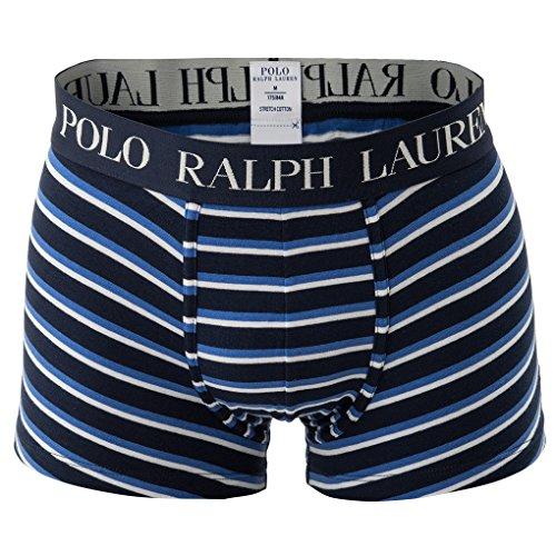 Polo Ralph Lauren Short Homme, Pantalon, Stripe Trunk, Strip - Cruise Navy