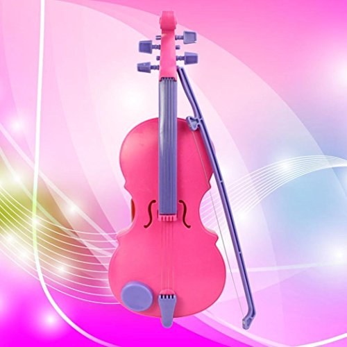 GOTD Electric Magic Music Violin B321 Children s Musical Instrument Kids Funny Gift Toys Pink